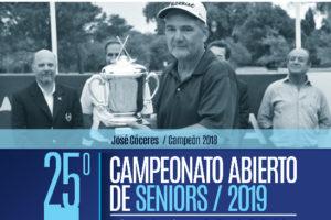 25° Campeonato Abierto de Seniors
