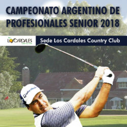 Campeonato Argentino de Profesionales Senior 2018